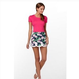 Lilly Pulitzer Yum Yum Caterpillar Tate Mini Skirt